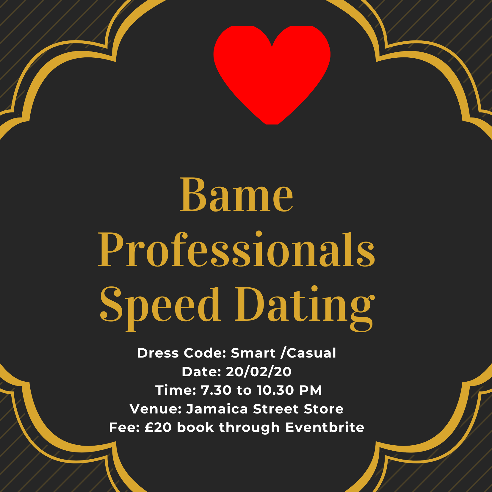 Bame Professionals Speed Dating
