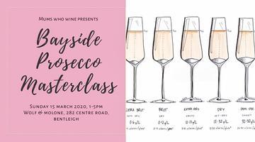 Bayside Prosecco Masterclass