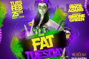 The Fat Tuesday Event feat. Vince Adams & Simone Green