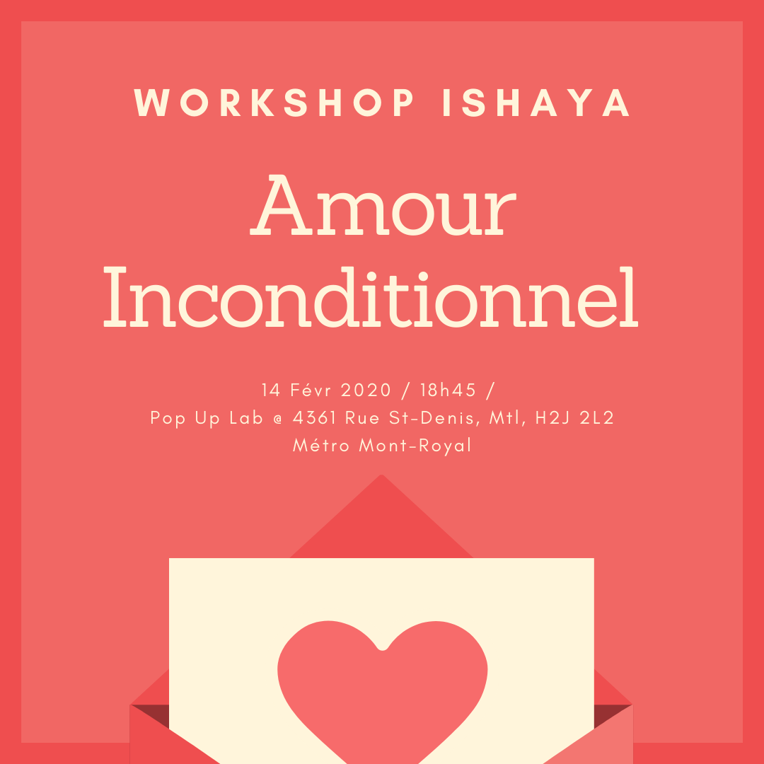 Workshop - Amour Inconditionnel