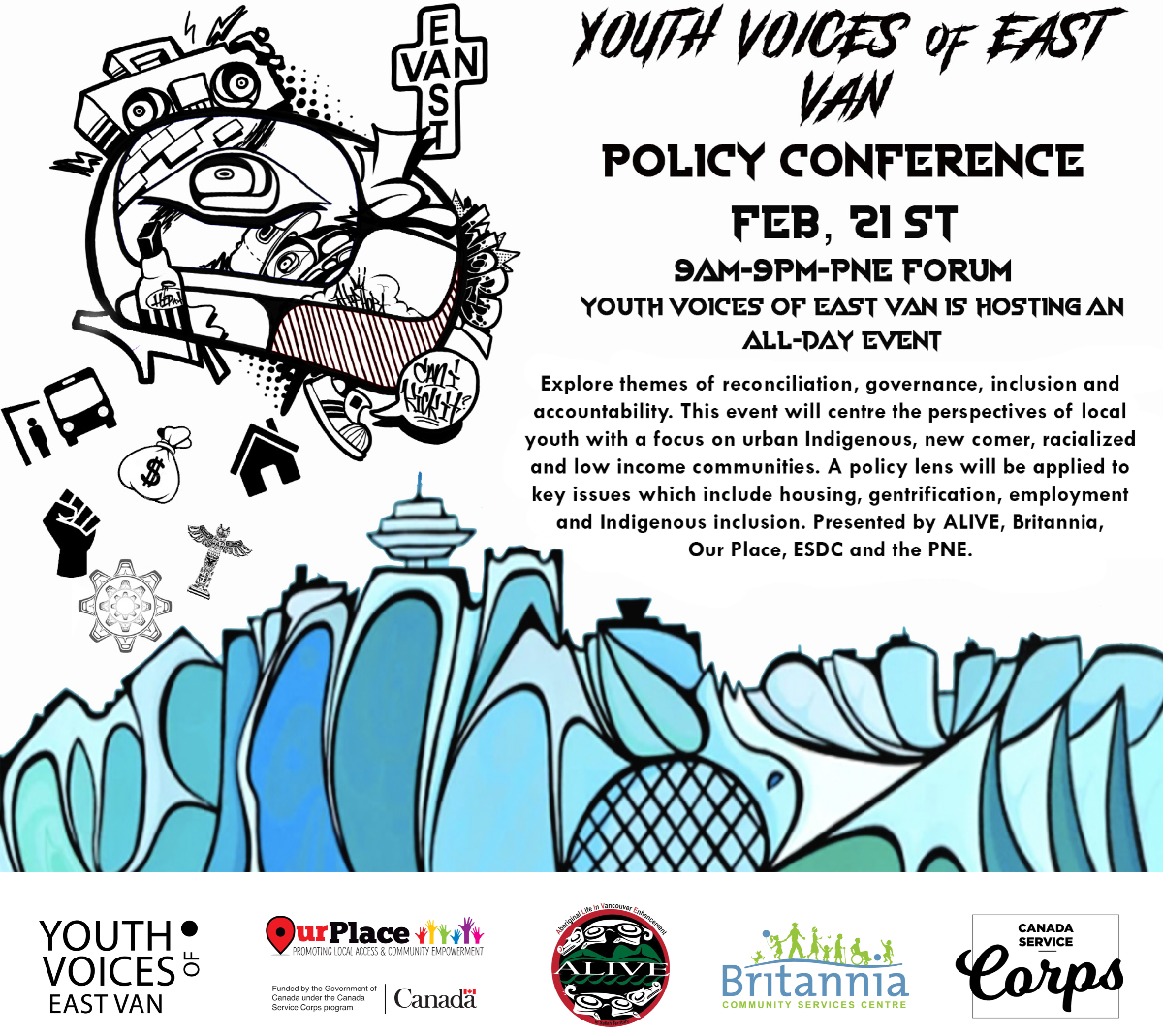 Youth Voices of East Van Policy Conference
