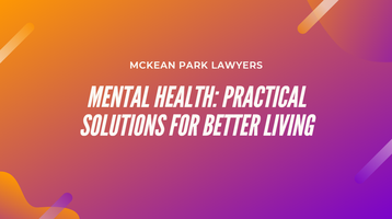 Mental Health: Practical Solutions for Better Living
