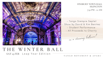 Tango Movement 10th Winter Ball  (In support of...