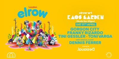 elrow London - elrow'art Kaos Garden