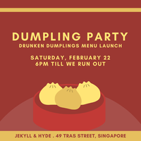 Dumpling Party: Drunken Dumplings Menu Launch