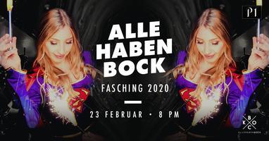 ALLE HABEN BOCK - FASCHING 2020 / 23.02.2019 / Ü16...