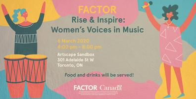 Rise & Inspire: Women's Voices in Music