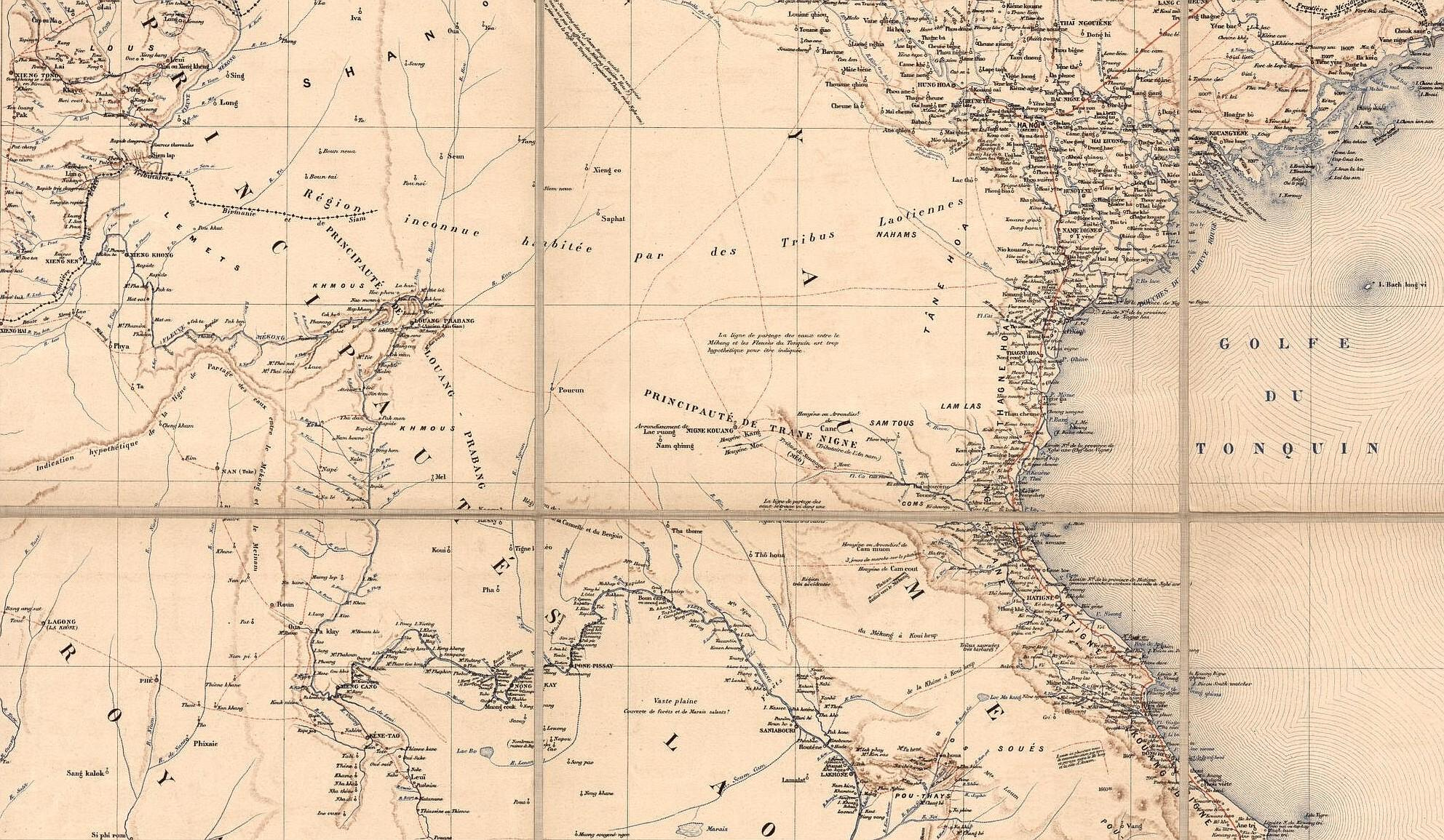 Boundaries & Brigands: James McCarthy & the Mapping of Siam