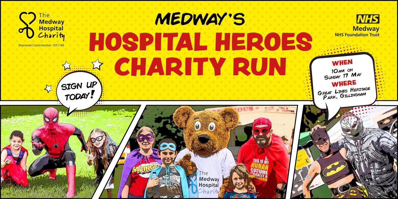 Medway Hospital Heroes Charity Run - postponed
