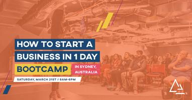 How to Start a Business in 1 Day Bootcamp