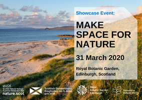 POSTPONED: Make Space for Nature: A Showcase Event at...