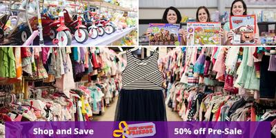 50% off PRE Sale Saturday March 21st 4:30-6:30pm ($5...