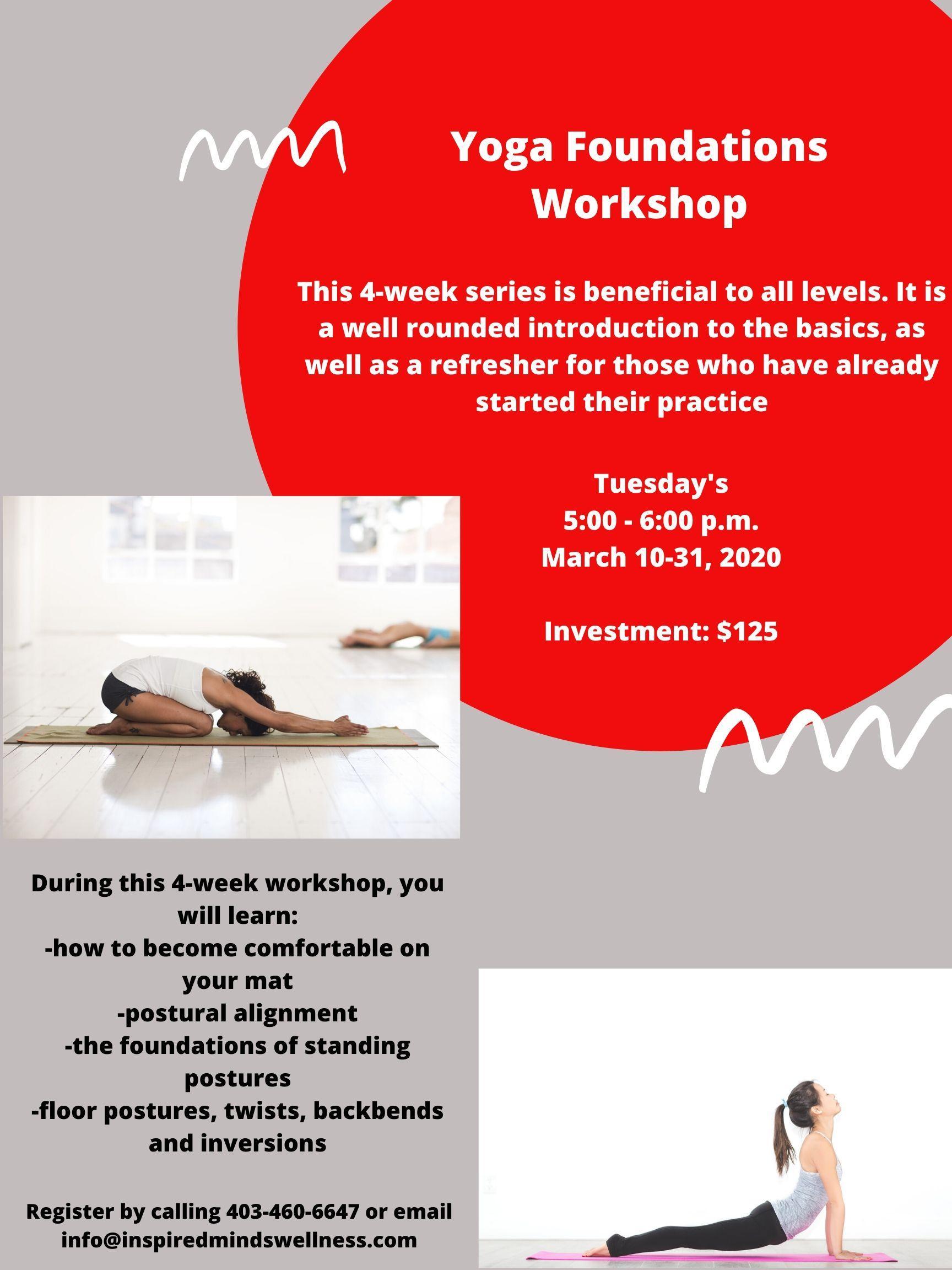 Yoga Foundations Workshop