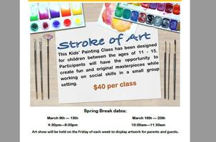 Stroke of Art: UF Health PAIP Fee for Service *40/class