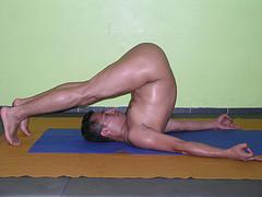 Experienced Buck Naked Yoga Class