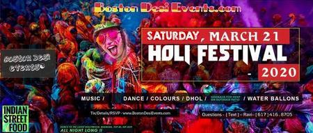 Holi Hai Fest - Color Dance - 2020 -3/21