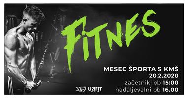 Mesec športa s KMŠ: Fitnes