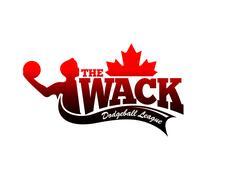 The Wack Dodgeball League logo