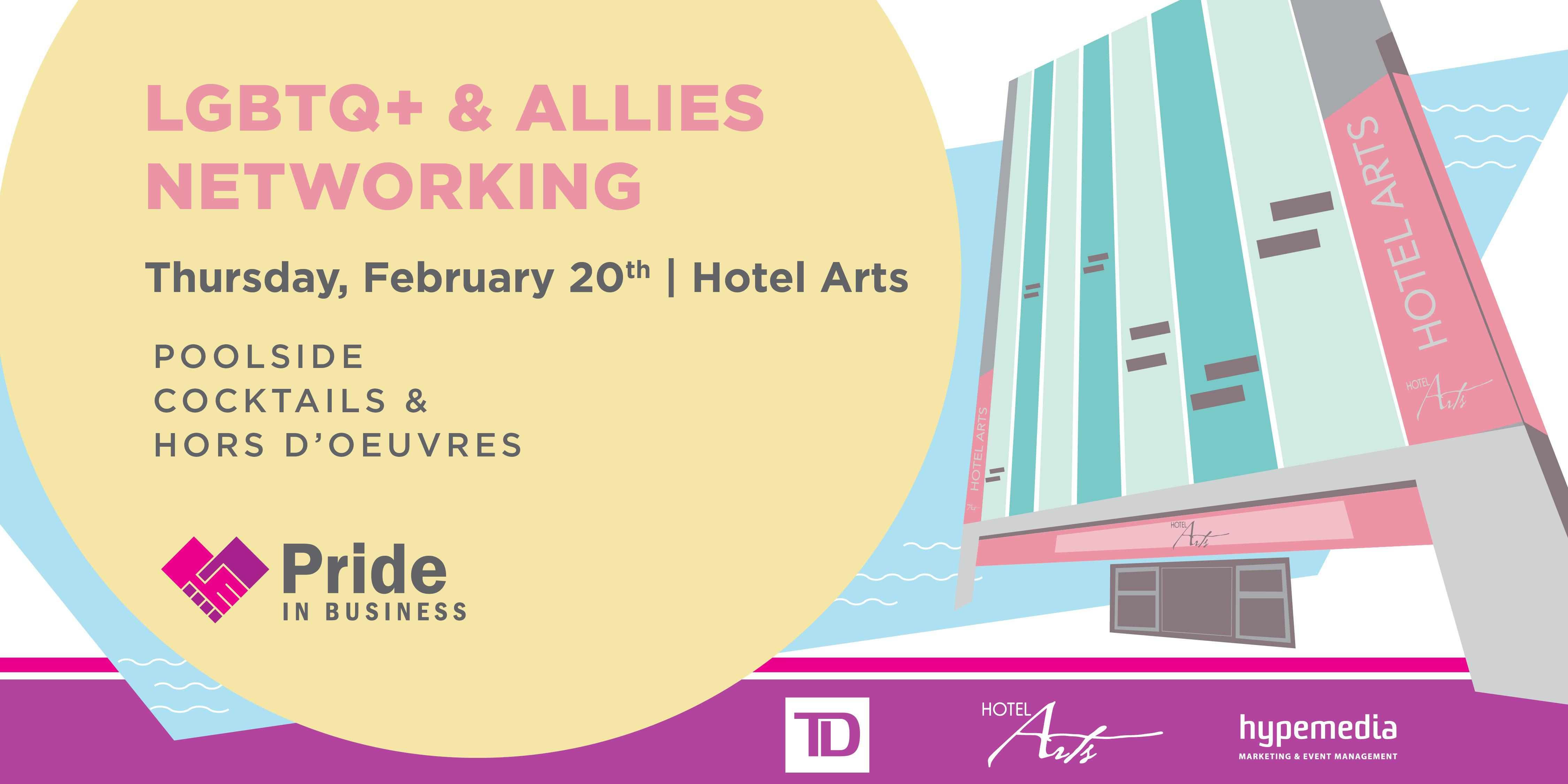 Pride In Business LGBTQ+ & Allies Networking presented by TD