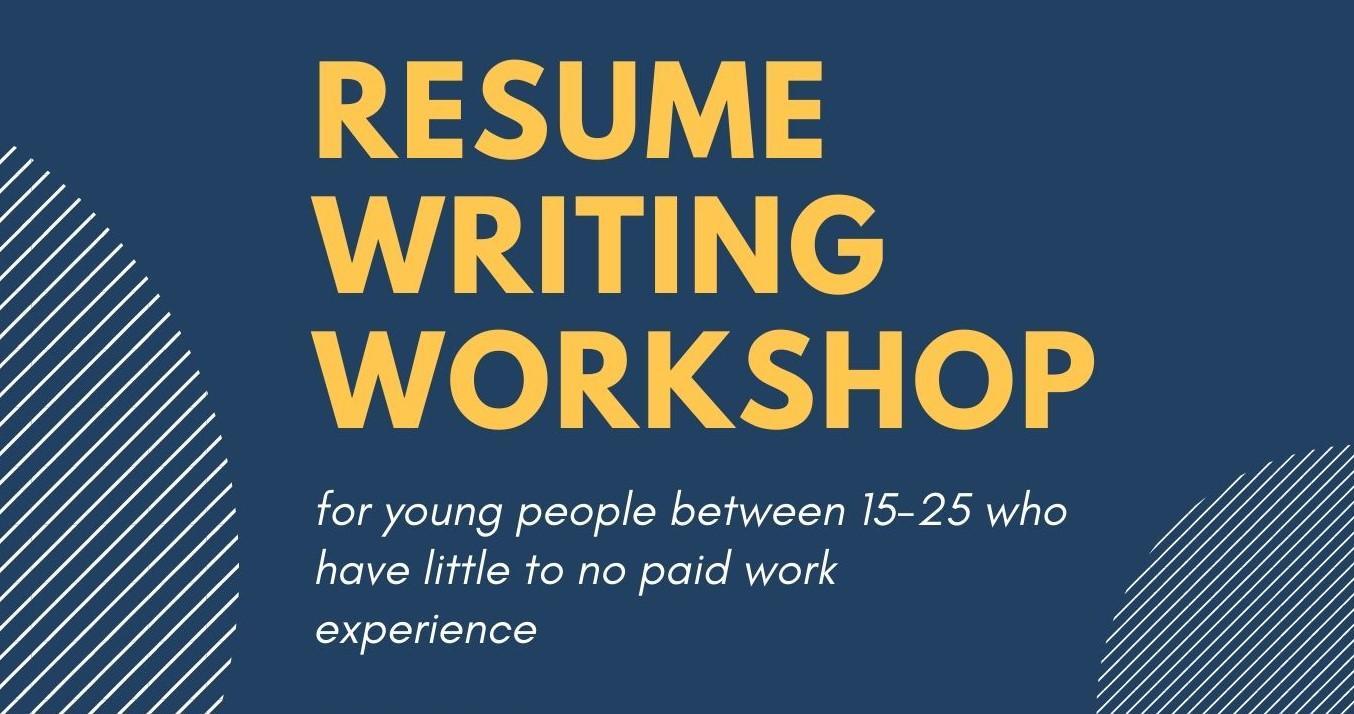 Resume Writing Workshop 14 Apr 2020
