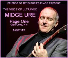 Midge Ure Acoustic - one one anywhere- Upfront and...