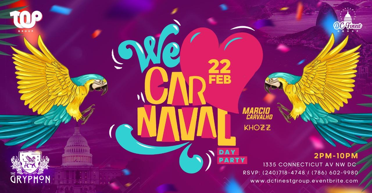 Brazilian Carnaval 2020 (Washington DC) Day Party + After party