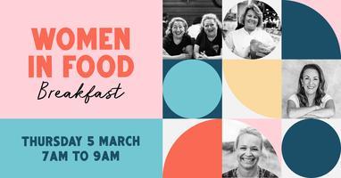 Women in Food breakfast