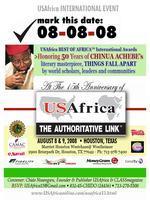 Achebe THINGS FALL APART 50th Anniv::USAfrica15th...