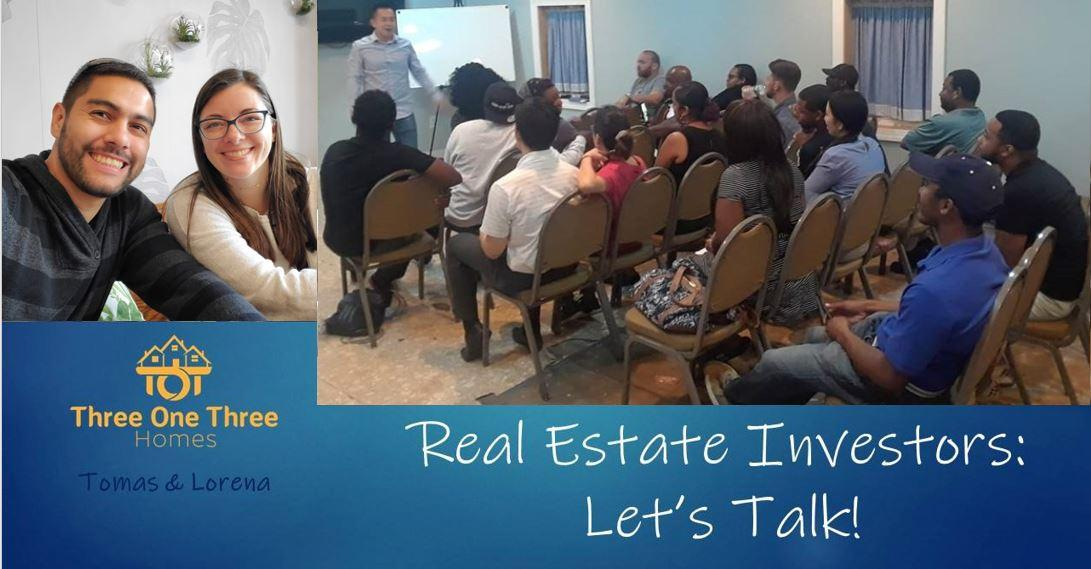 Real Estate Investors: Let's Talk! - Now Virtual