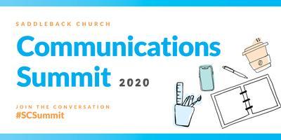 Saddleback Church Communications Summit 2020