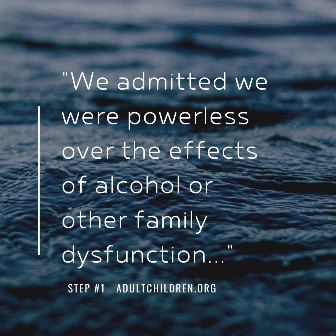Adult Children of Alcoholics 12 Step Meetings