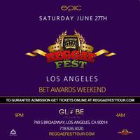 Reggae Fest LA BET Awards Weekend at The Globe Theater...