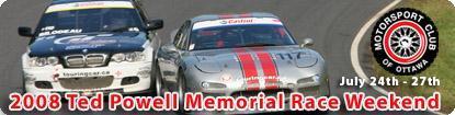 Ted Powell Memorial Race Weekend