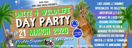 VIBE TRIBE UNITED PRESENTS UNITE 4 WILDLIFE DAY PARTY