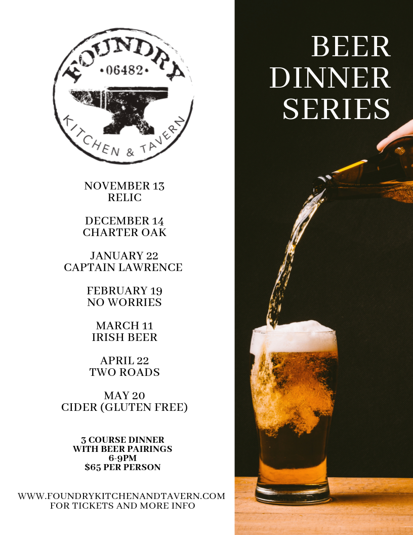 Beer Dinner With No Worries Brewery