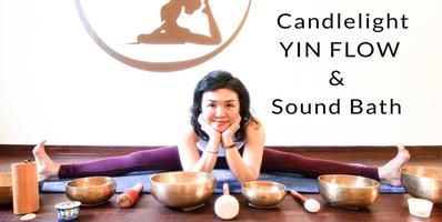 Candlelight Yin Flow & Sound Bath: Connect through...