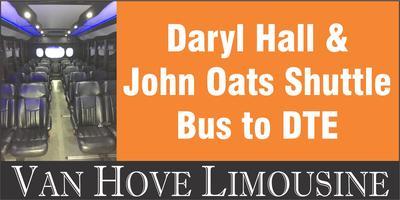 Daryl Hall & John Oats Shuttle Bus to DTE from Hamlin...