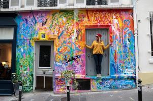 Balade street-art Instagram à Paris Montmartre, avec...