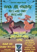 Revised date for Shotgate Open Air Theatre