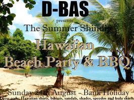 D-BAS Summer Shindig - Hawaiian Party and BBQ  in aid...