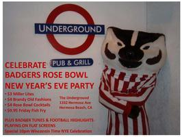 Badgers New Year's Eve Party...ALL YOU CAN EAT FISH FRY AND...