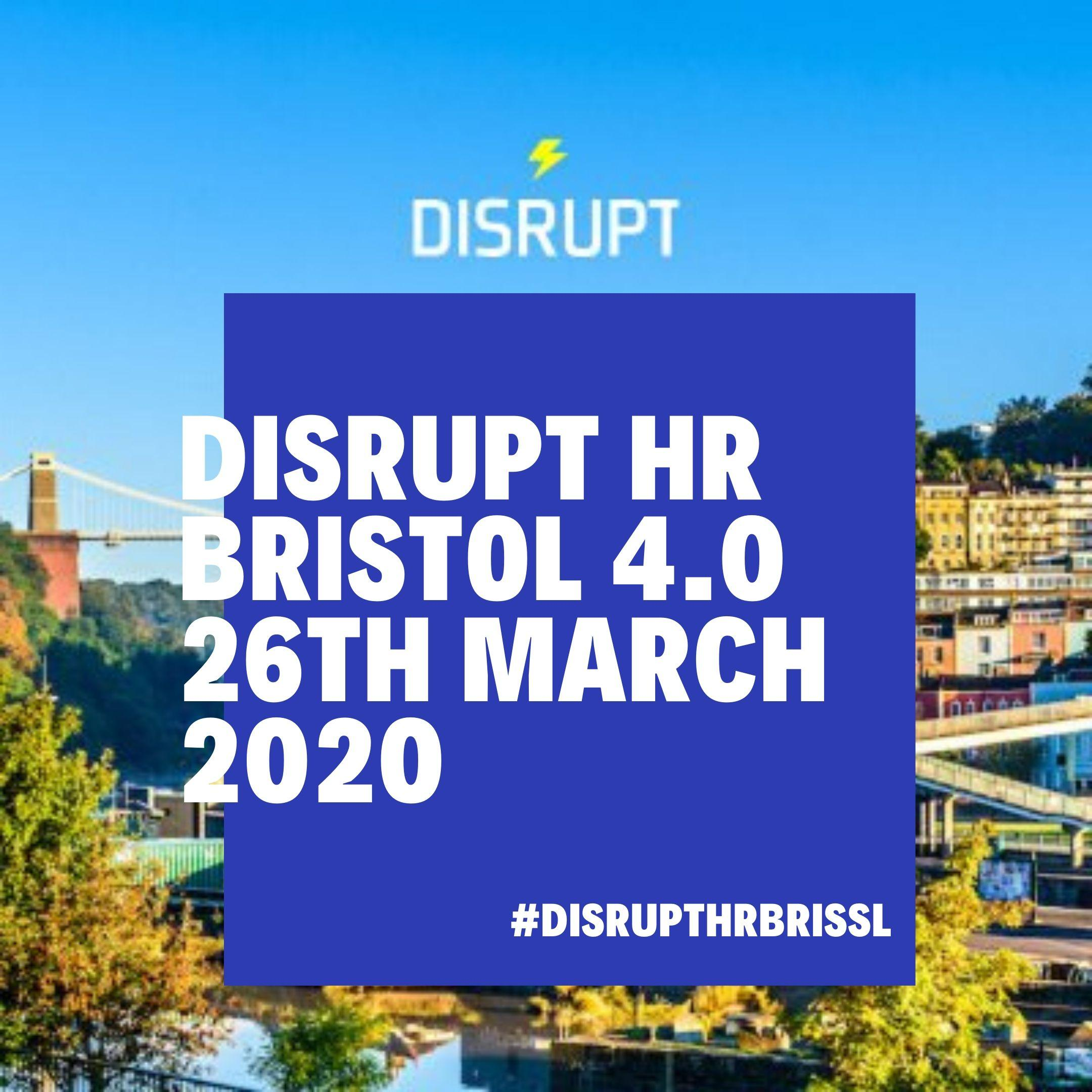 DisruptHR Bristol 4.0