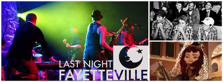 Last Night Fayetteville - New Year's Eve Celebration 2012