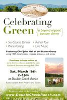 Celebrating Green: A Beyond Organic Pasture Dinner