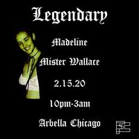 LEGENDARY: MADELINE X MISTER WALLACE