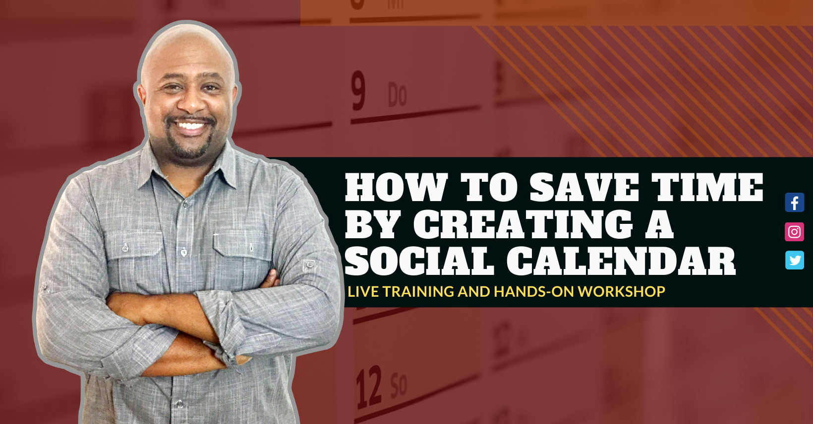 How to Save Time By Creating a Social Calendar (Brea, CA)