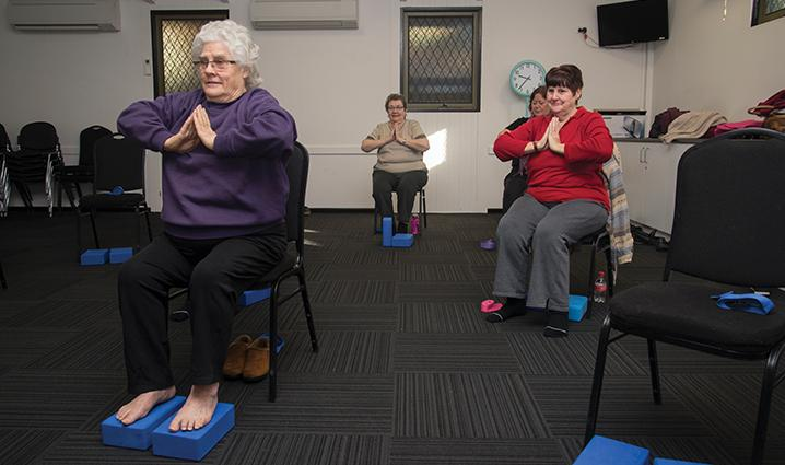 Chair Yoga - Holden Hill - Term 2 2020