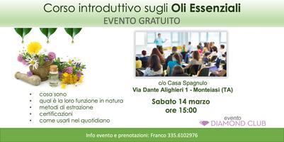 Monteiasi (Taranto) - Corso Introduttivo Gratuito...