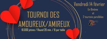 POITIERS POKER CLUB - Tournoi Des Amoureux/Amireux