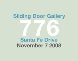 Sliding Door Gallery Moving Up November 7 2008